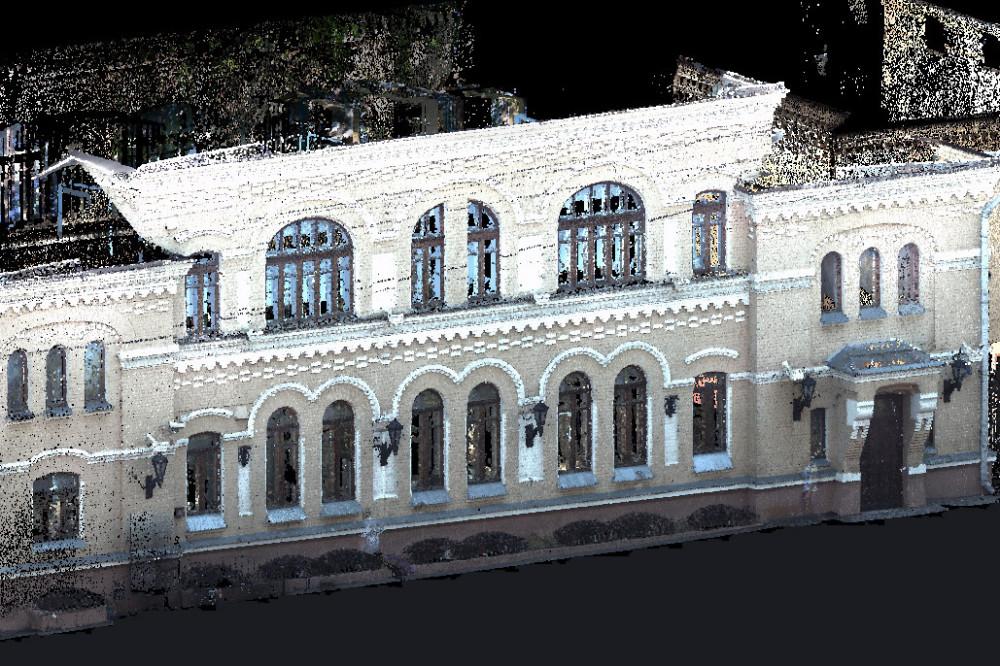 Сканирование фасада