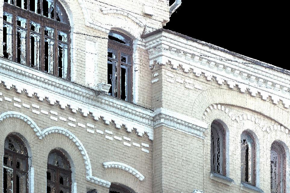 Сканирование фасада 4