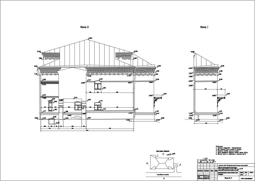 Обмер фасада 3