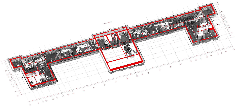 лазерное сканирование помещений