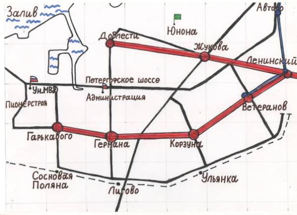 Схема метро -2
