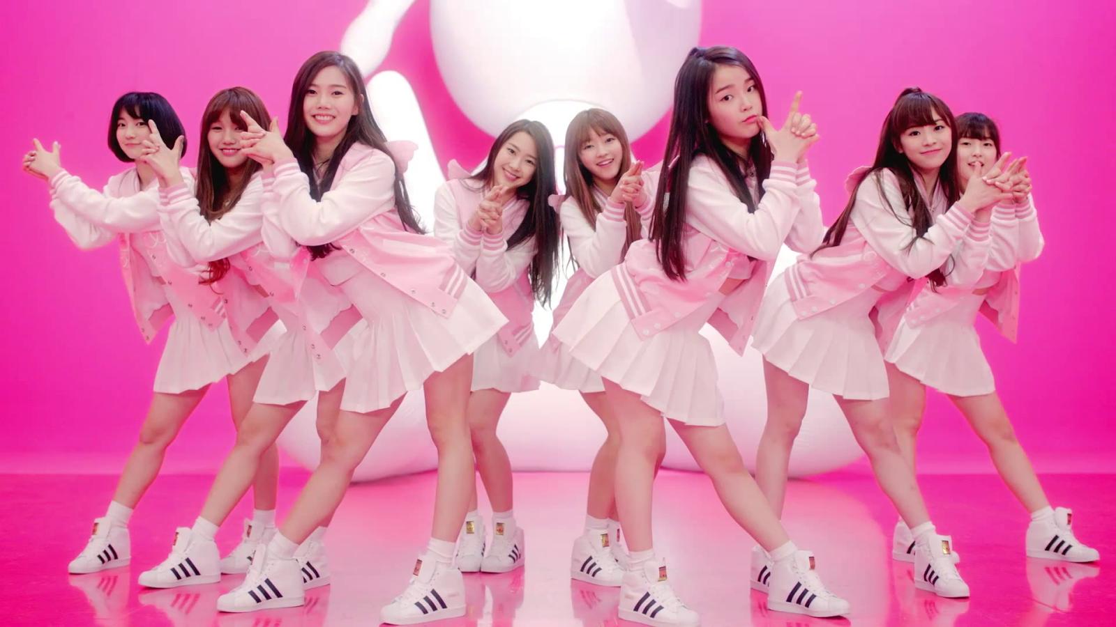 Girl cross girl group pop video introducing supreme anal