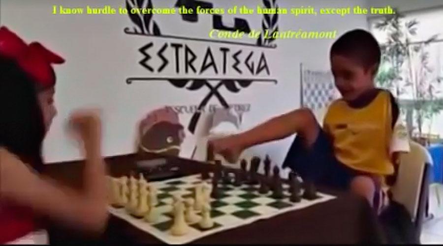Шахматы ногами