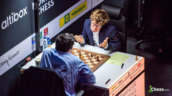 Ставангер 2017. Владимир Крамник разделил второе место на турнире в Ставангере