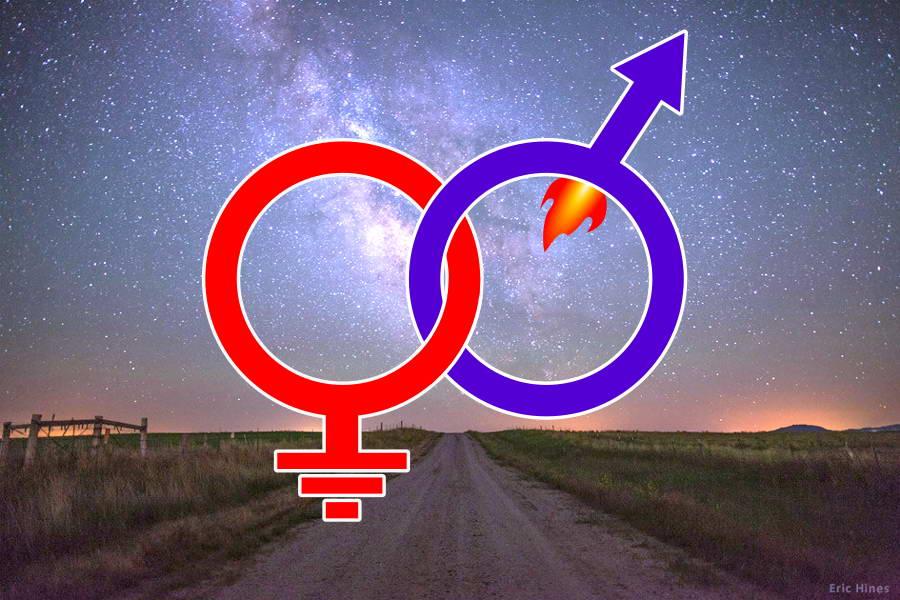 женщина+мужчина