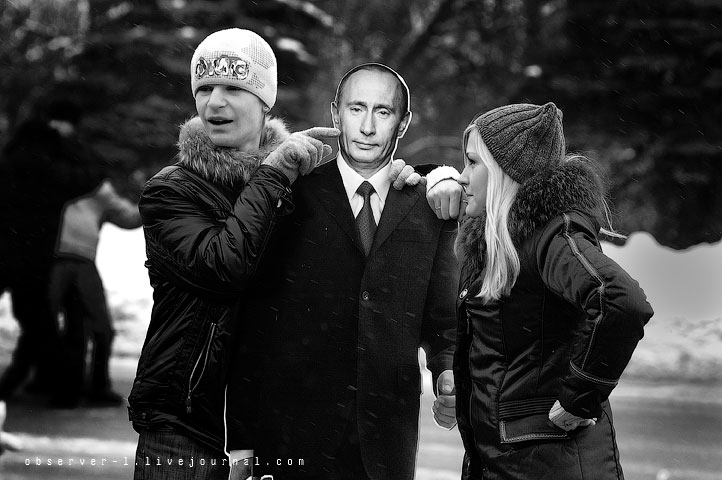 Путин в Липецке
