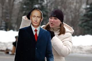 Митинг в защиту Путина