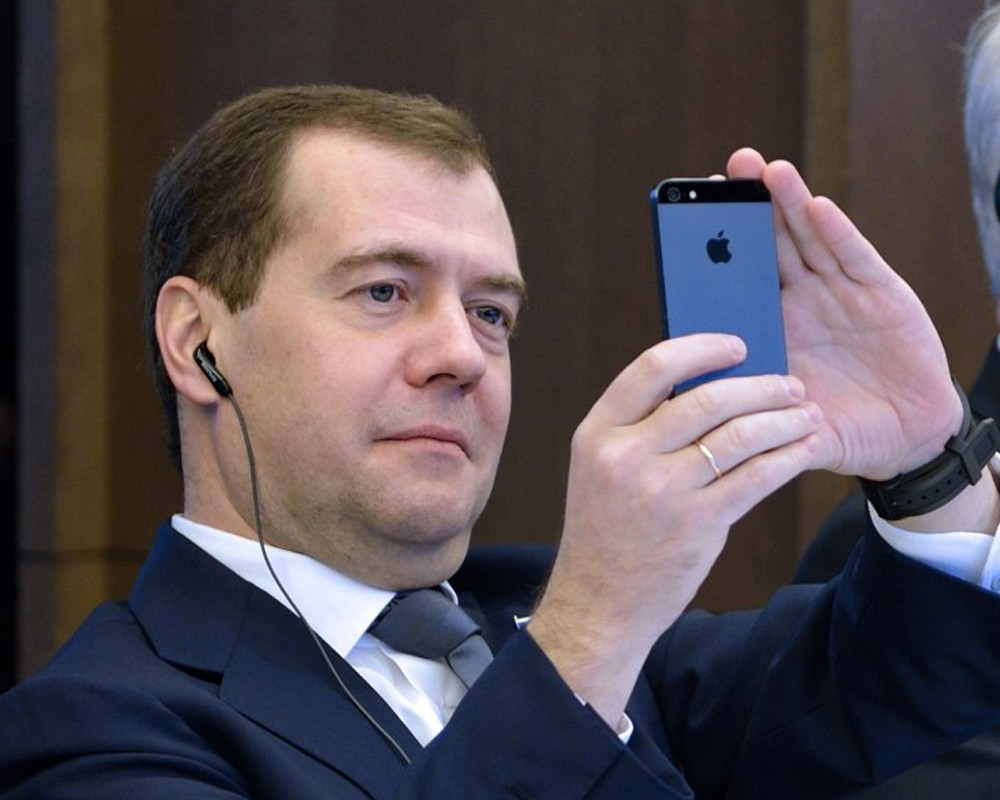 Iphone-Medvedev