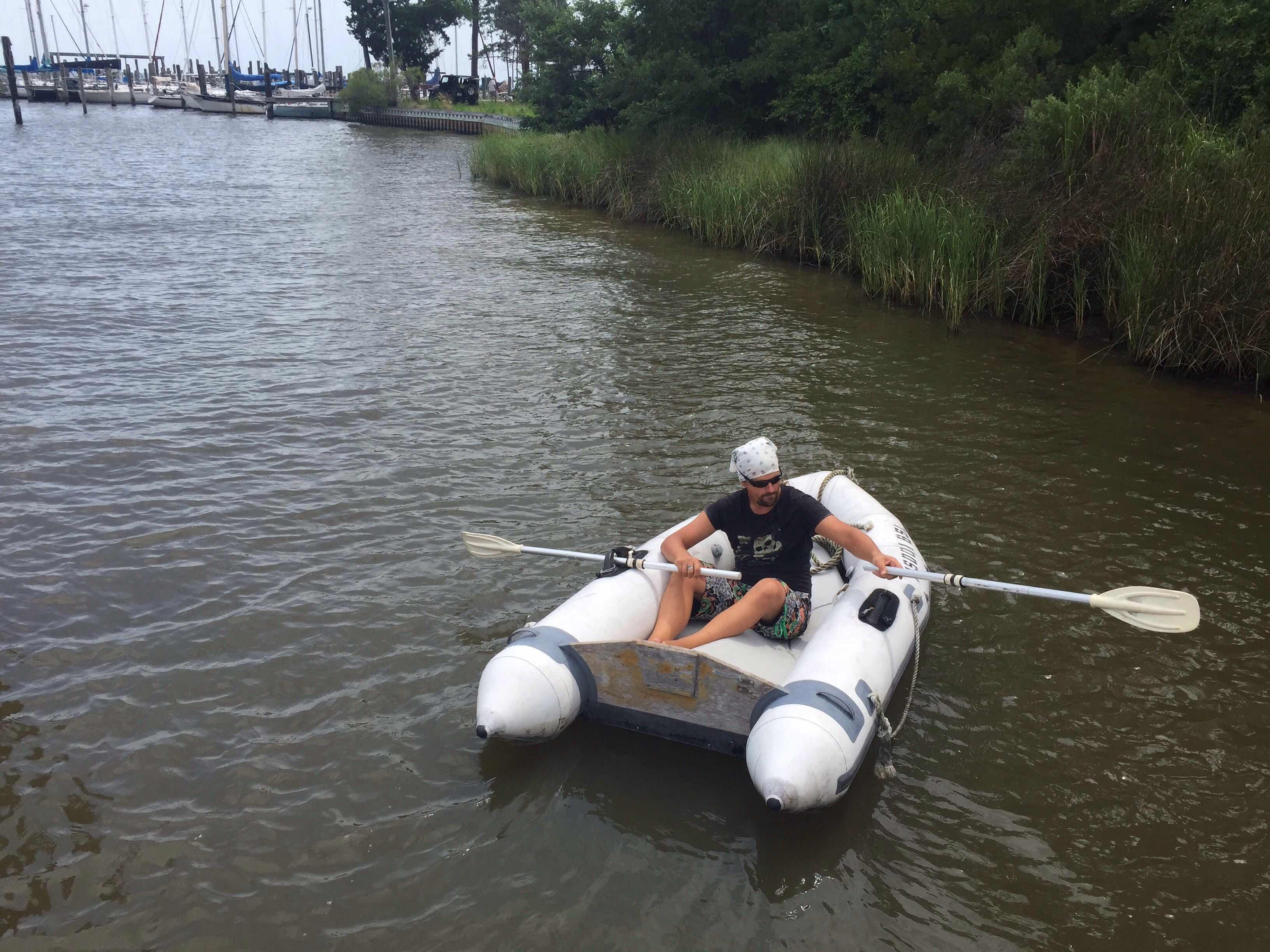 весла к лодке тузик