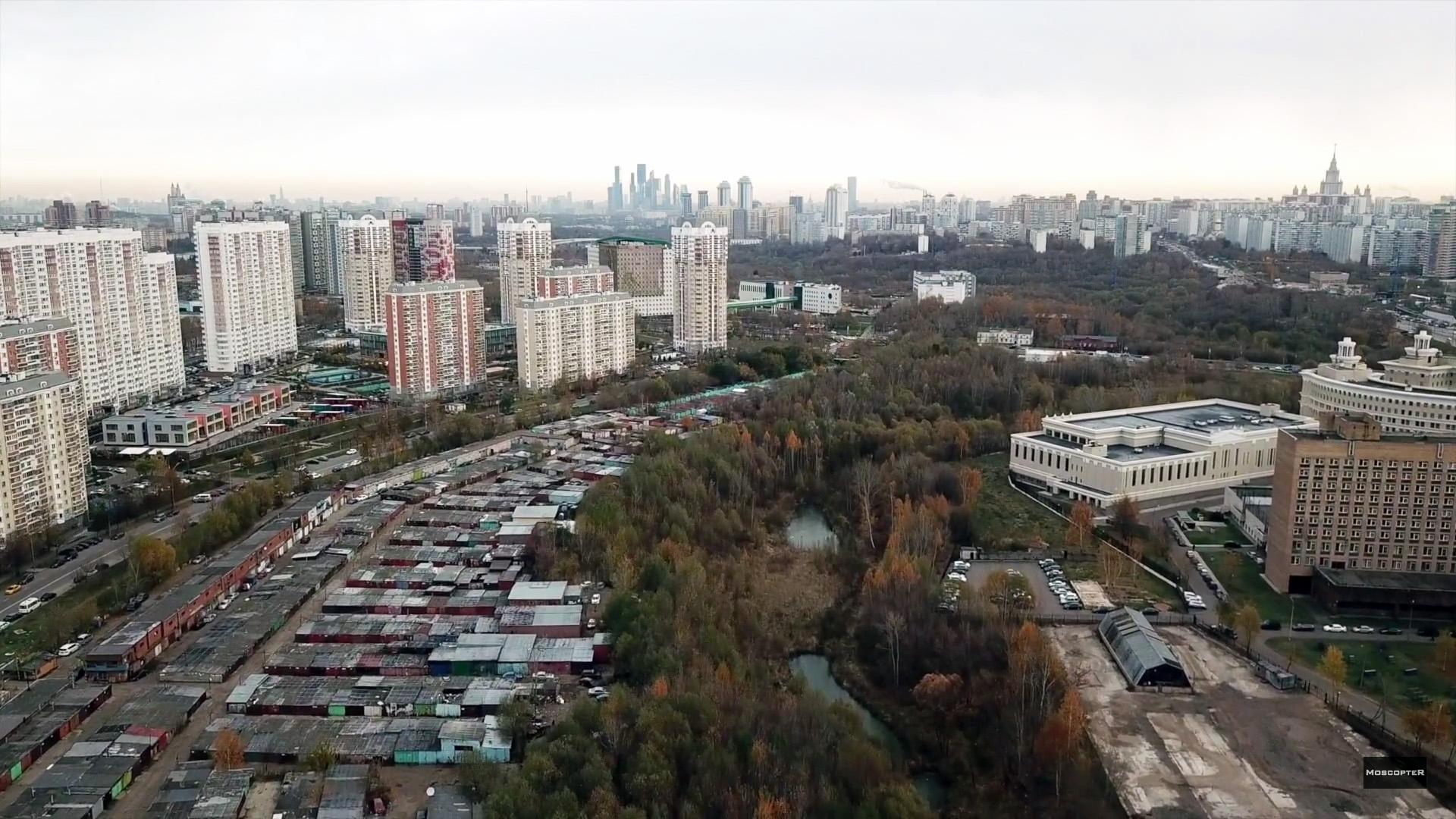 2017 Очаковский овраг и гаражи
