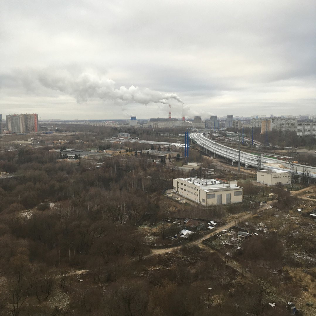 2018 Взгляд сверху на Матвеевский овраг