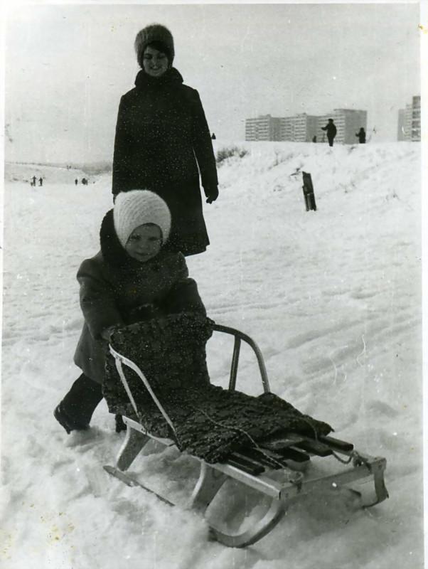 1977 Большой Очаковский пруд. Тимофеев Н.Н.