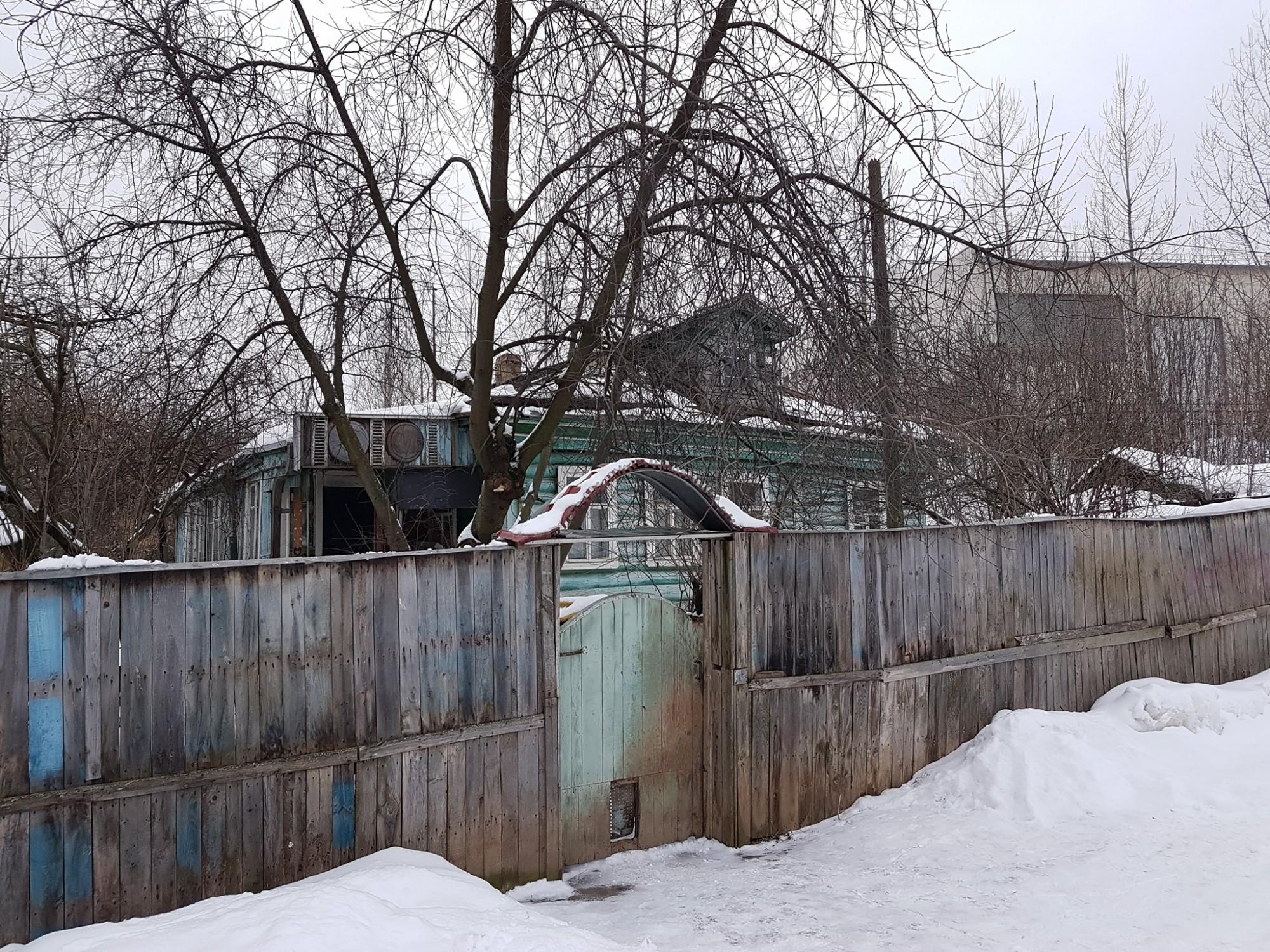 2019 Последний дом деревни Матвеевское. Александр Кутенков.