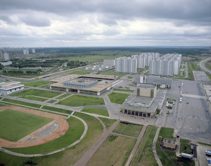 1980 Панорама Олимпийской деревни. Пахомов, РИА Новости