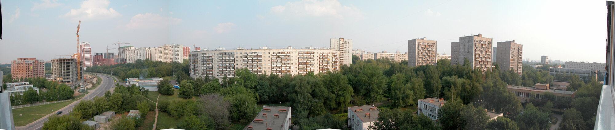 2005 Панорама Матвеевки (с сайта Мешкова)