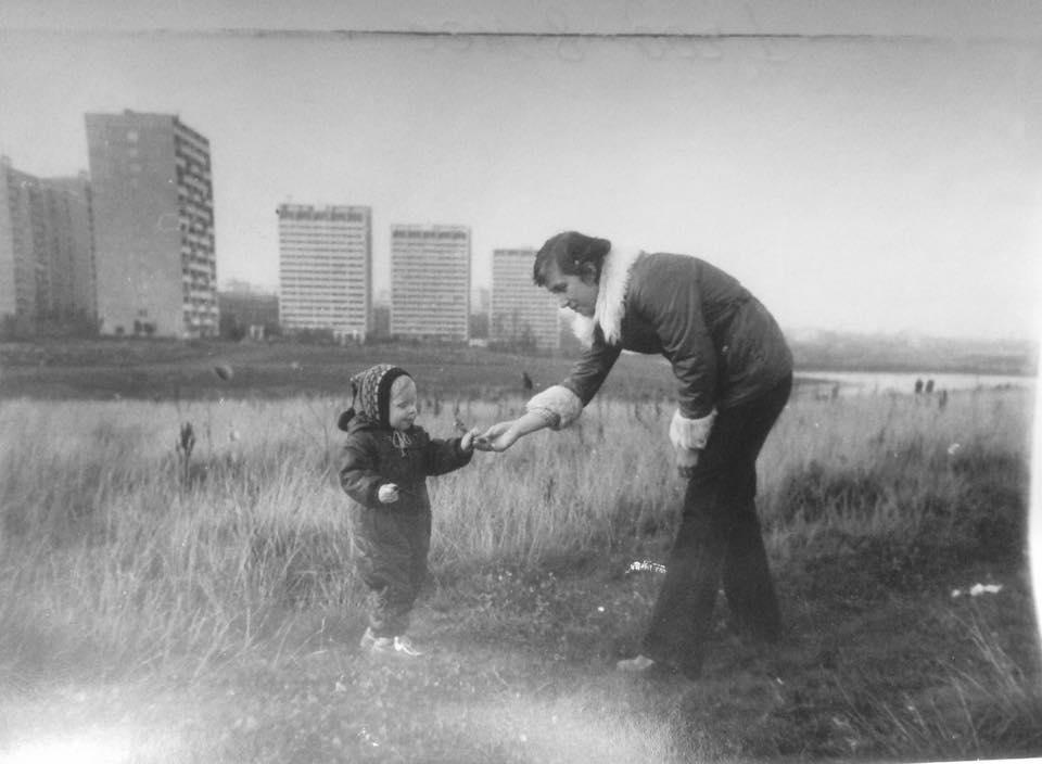 1983 Очаковский пруд. Архив Аллы Устяк