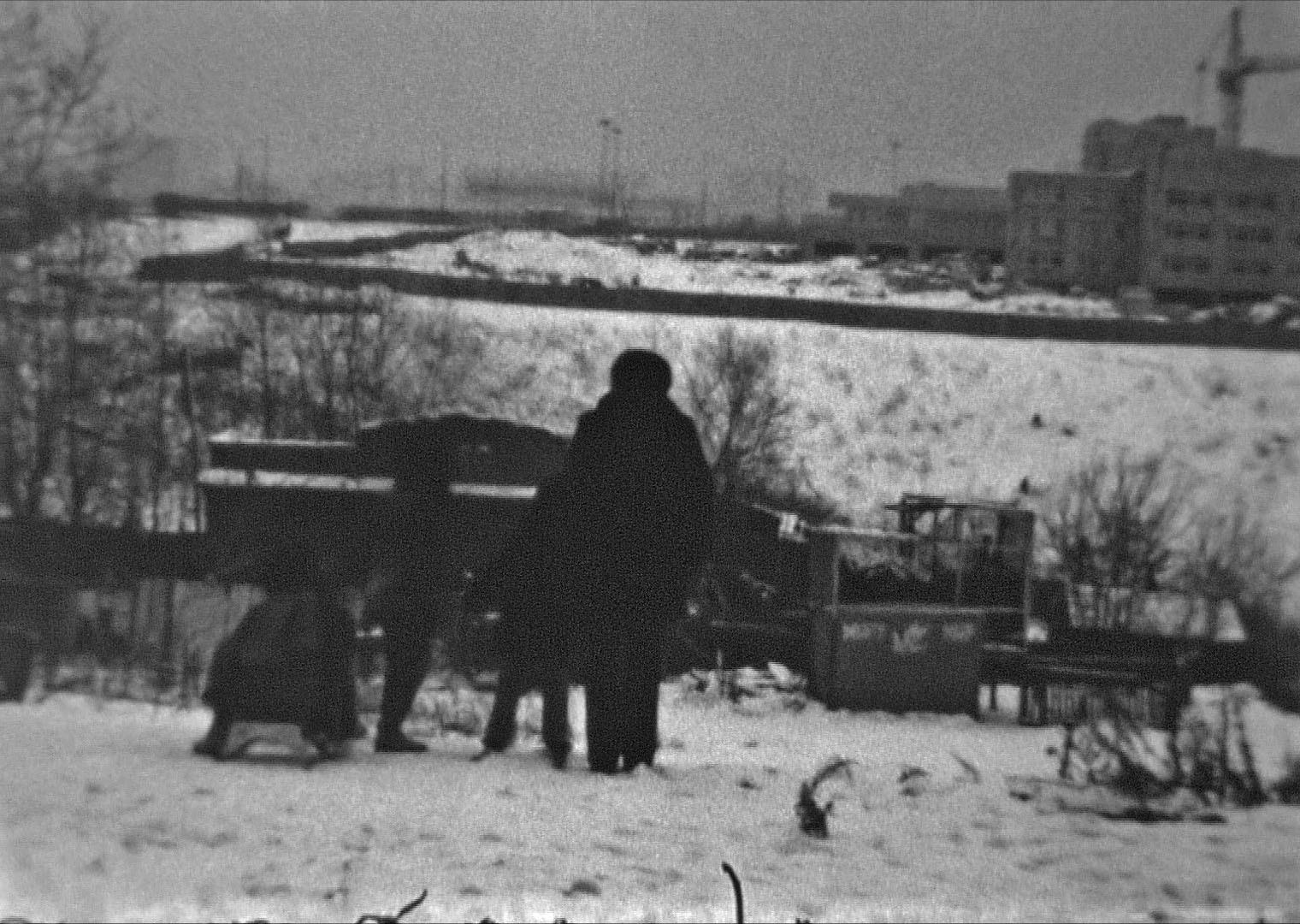 1979-81 Очаковский овраг. Пётр Рудов