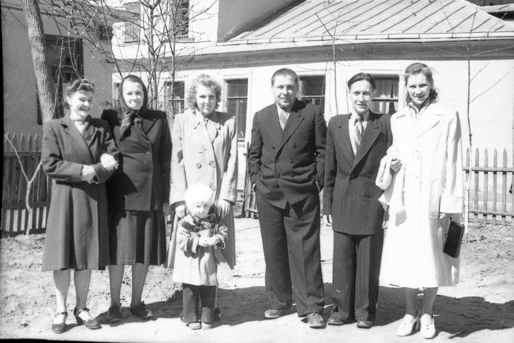 1956-58 архив Кулагиной