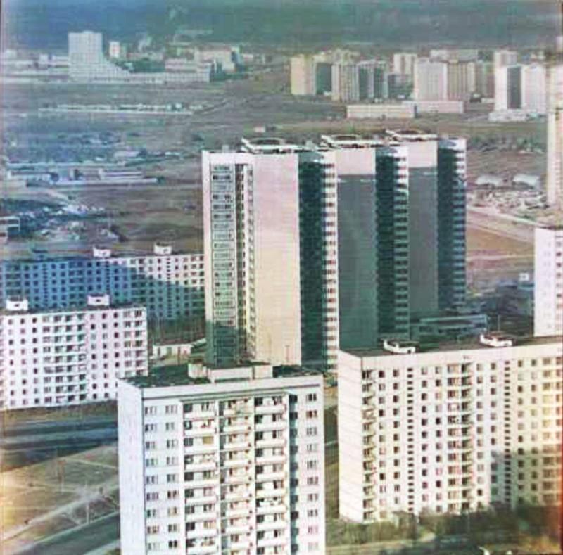 1984 Вид из Тропарёво. Родин Ю.Н.