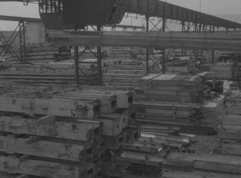 1951 Склад металлоконструкций на ст. Очаково (обеспечивает все высотные здания Москвы металлическими конструкциями для каркасов зданий)2