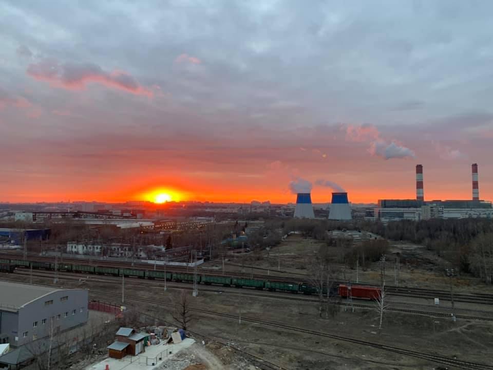 2019 Апрельский закат. Андрей Волков