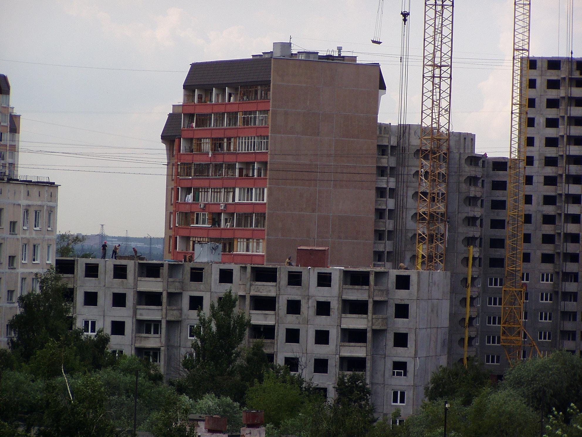 2004 стройка