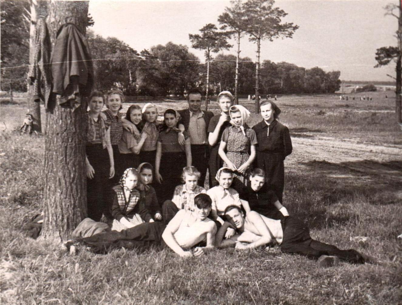1958 очаковском колхозе на практике0
