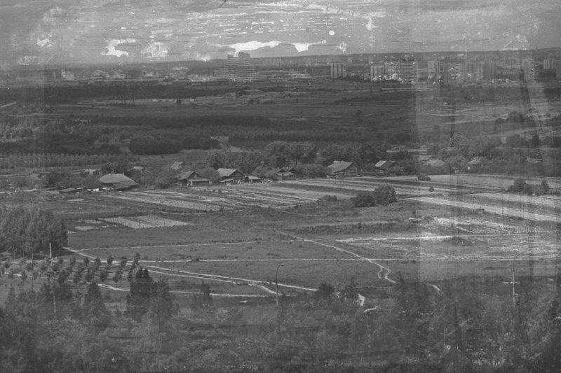 Место строительства Олимпийской деревни (бывш. дер. Никольское)