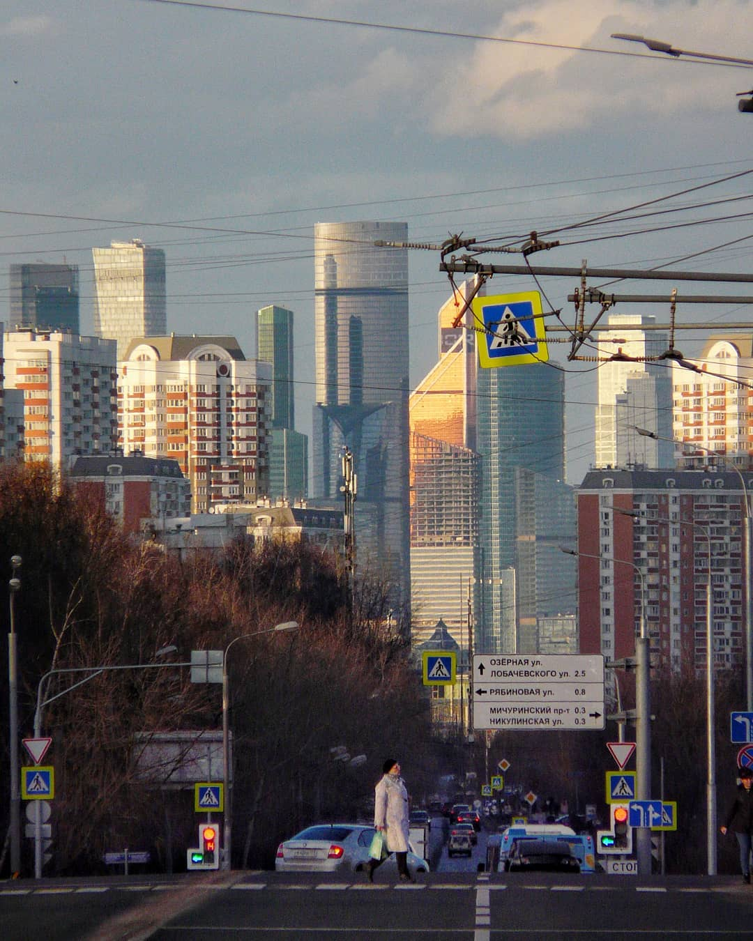 Вид с Озёрной. Фото - solominegor
