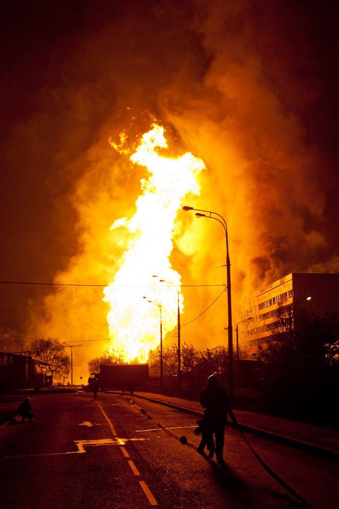 2009 Взрыв газопровода в Очаково 10.05.09