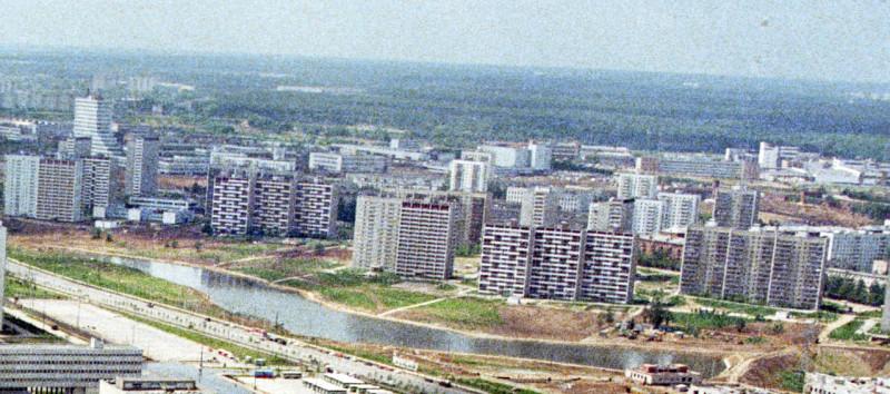 1980 Панорама Очаково