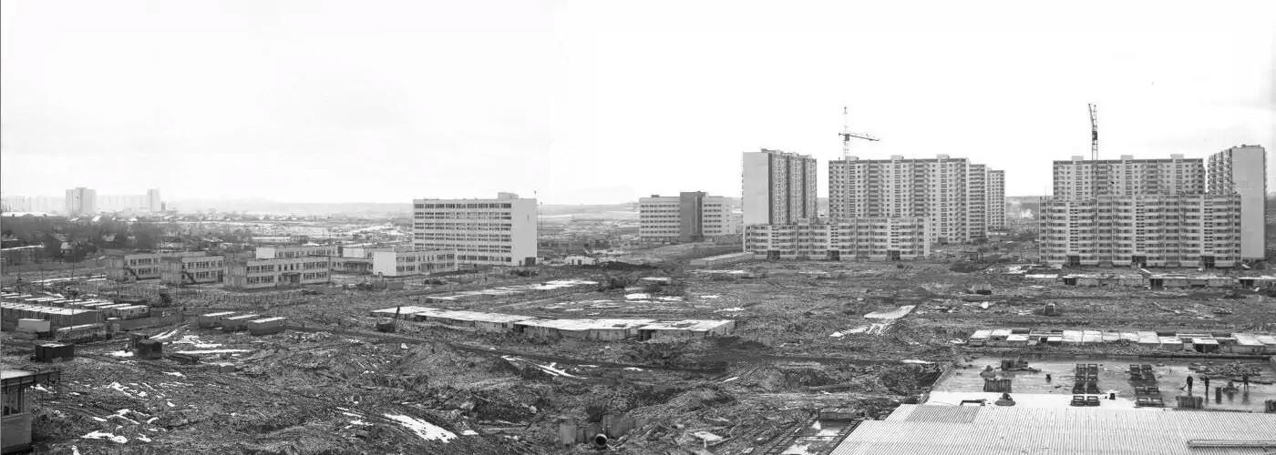 1979 Олимпийка строится. Петров Ю.Е.