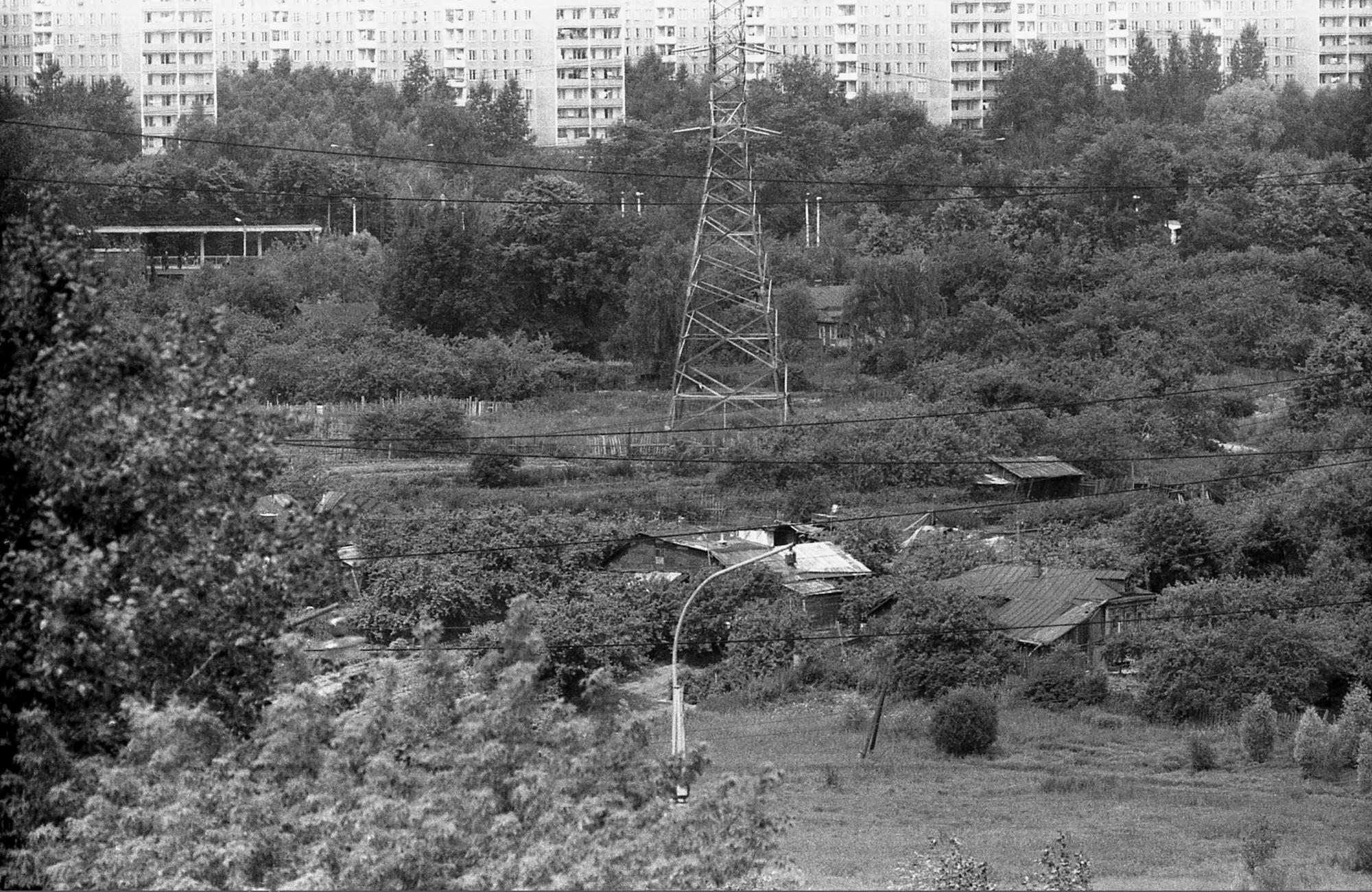 1989 станция и деревня Матвеевское. Дмитрий Лапшин