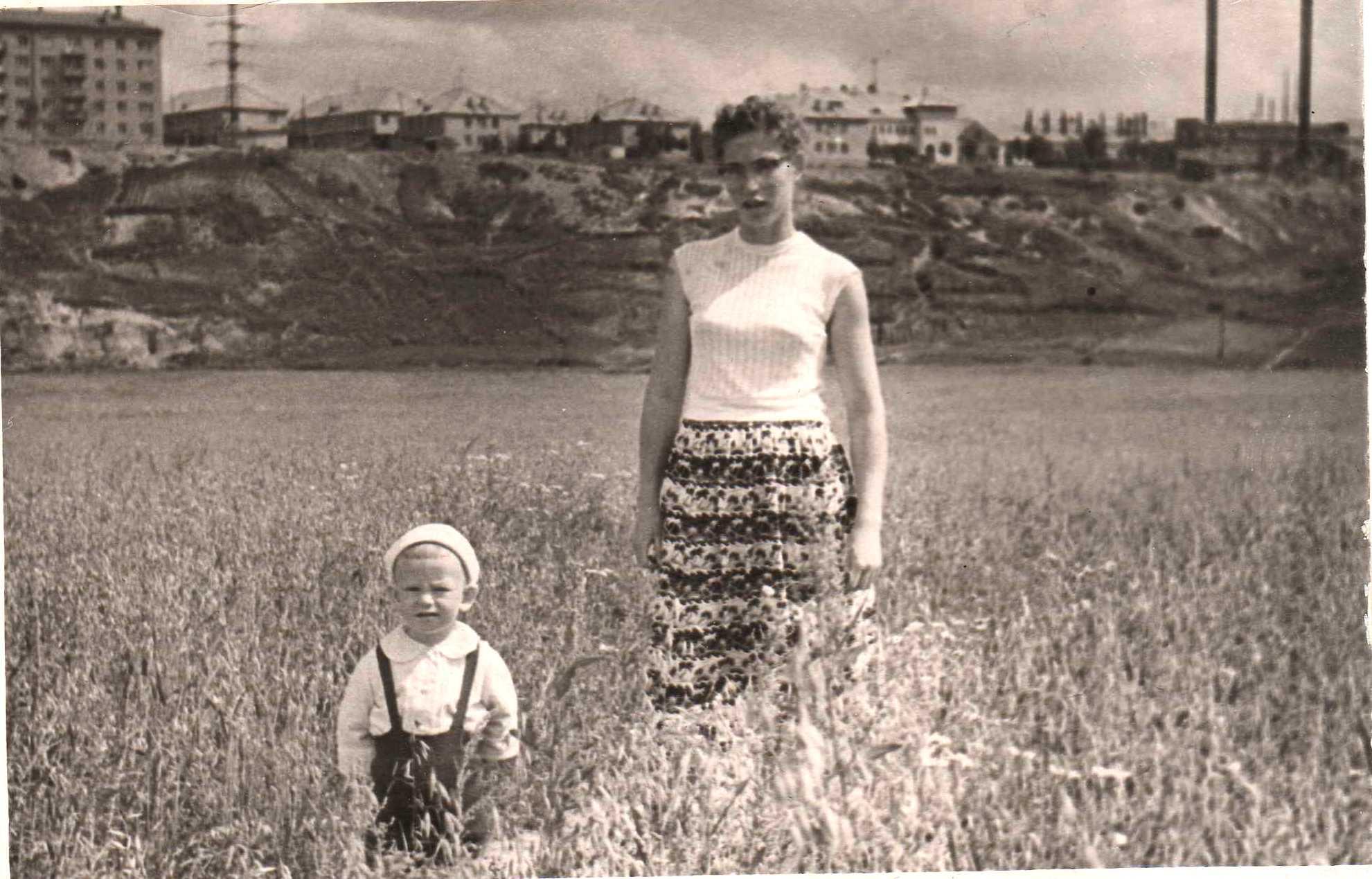 1961 2-е Раменки  Овраг р. Раменка