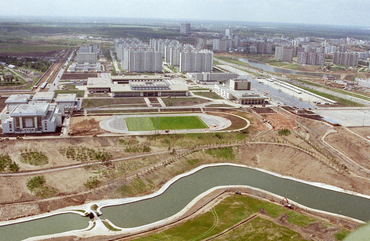 1980 Олимпийские пруды Фото Юрия Абрамочкина, РИА Новости