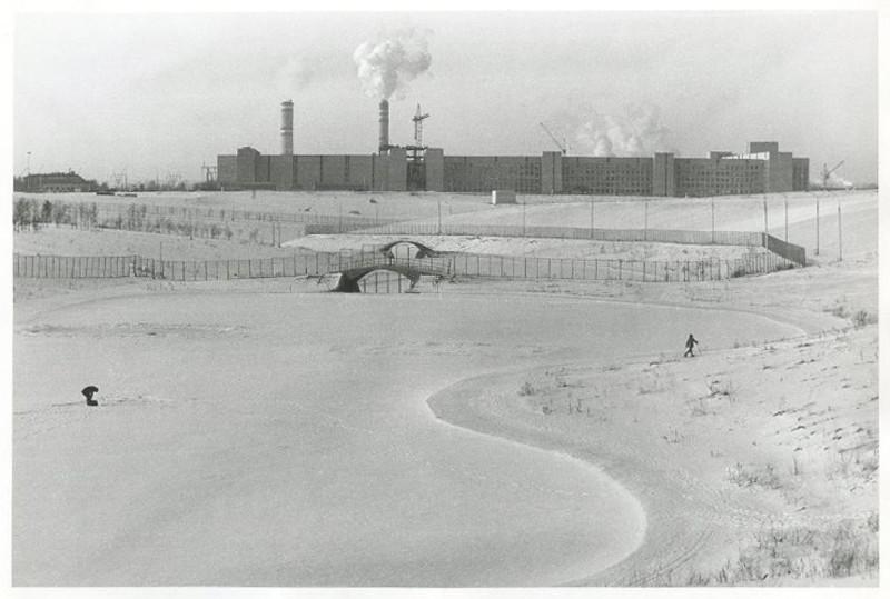 1984 Пруд у Мичуринского проспекта. Гитман Сергей Семёнович2