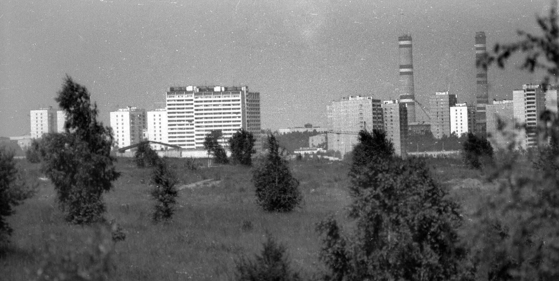 1980-85 Очаково из Никулино. Юрков А. П