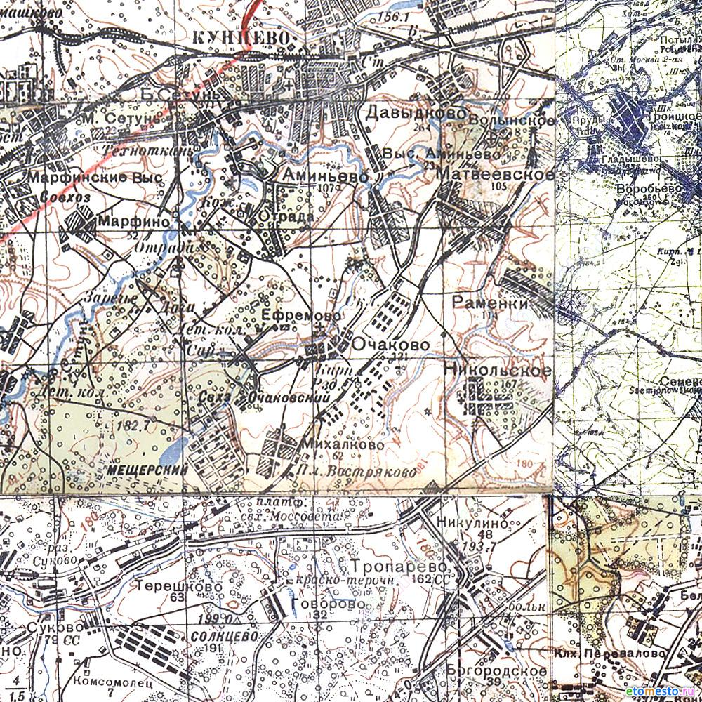 1941 Карта РККА