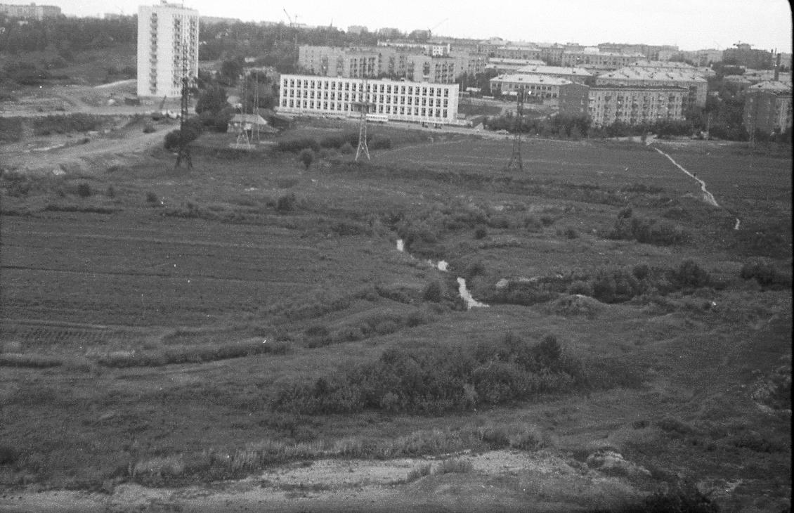 1970 Вид на Кременчугскую ул.