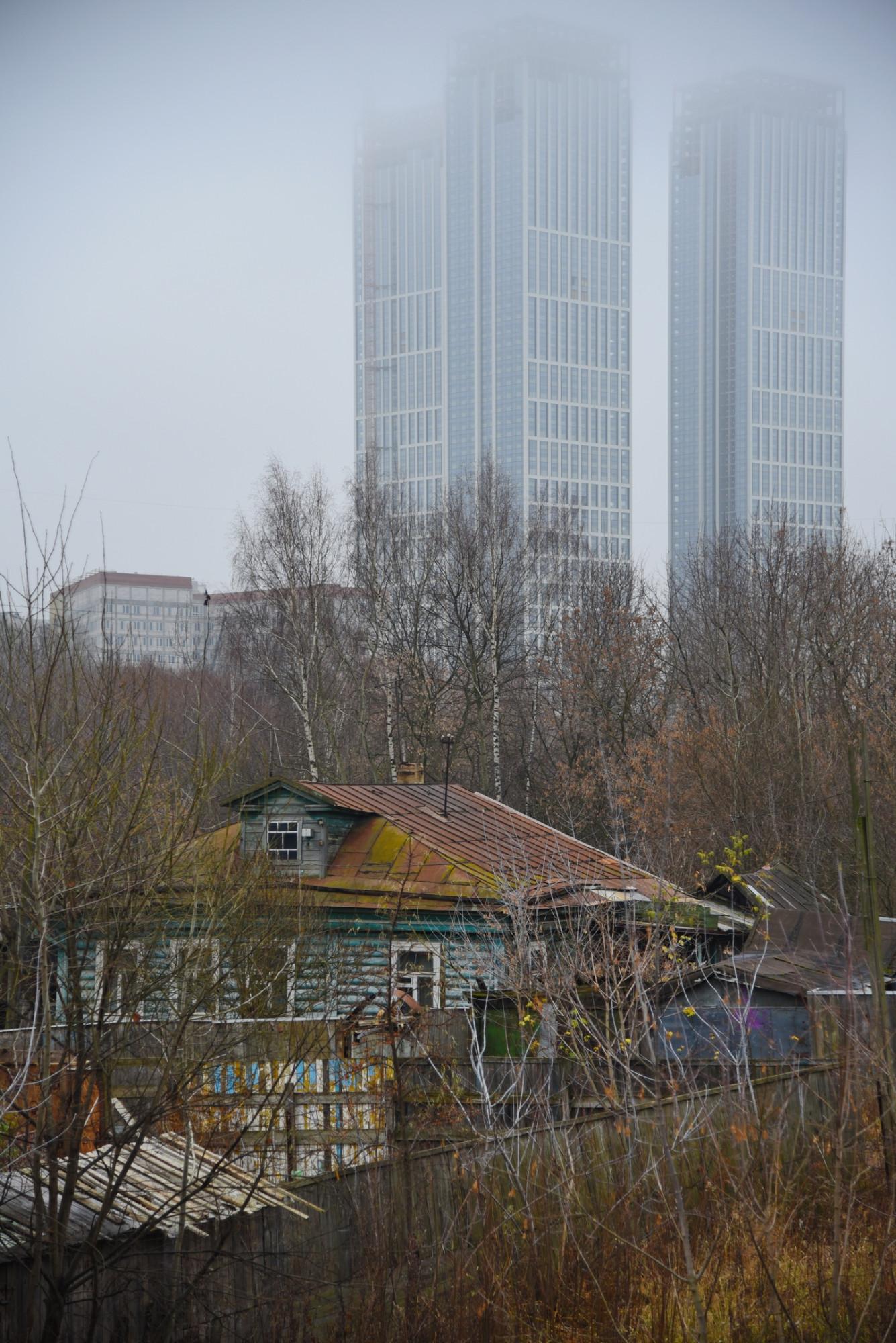 Последний дом деревни Матвеевское. Сергей Игнатов. 17.11.2019