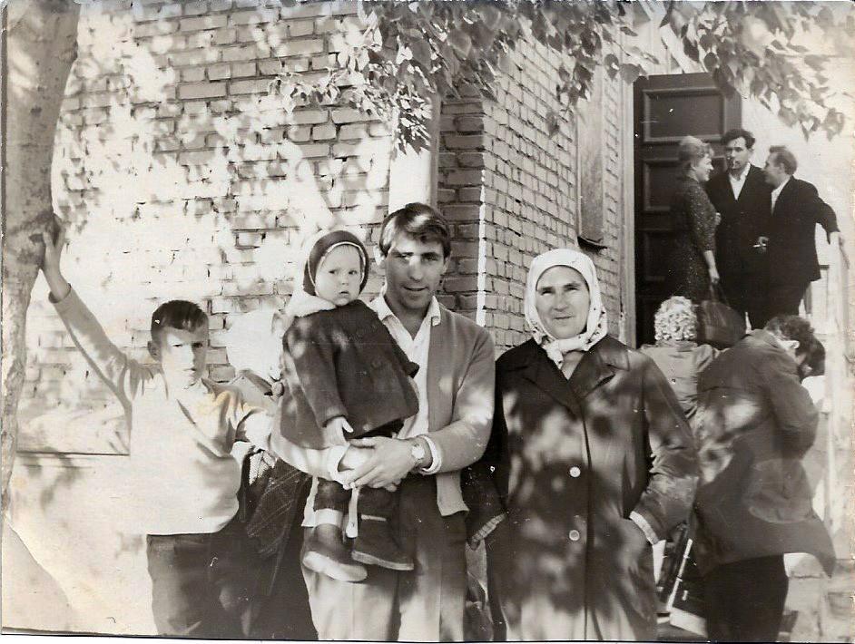 1966-67 Вид с улицы Марии Поливановой, около дома №5