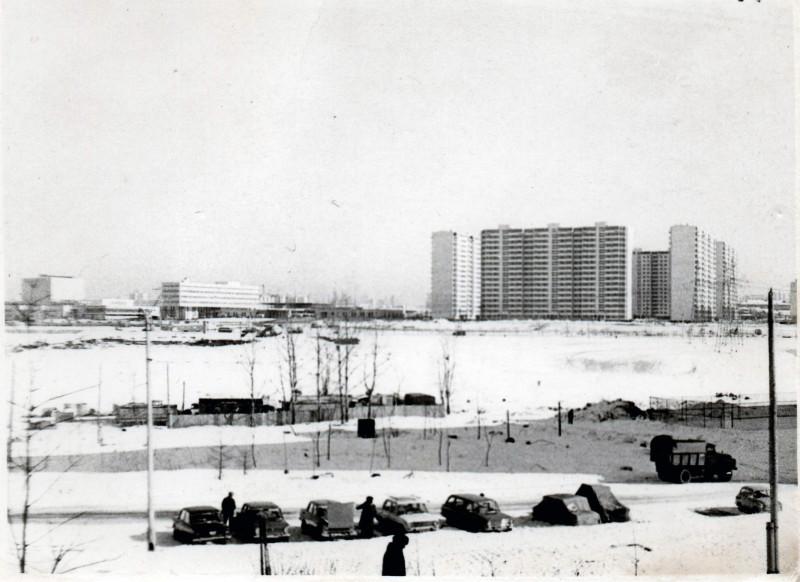 1979 вид на Олимпийку