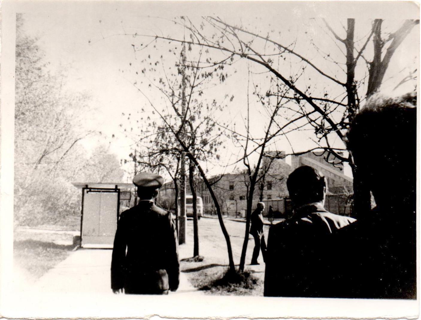1985 у военкомата на Б. Очаковской