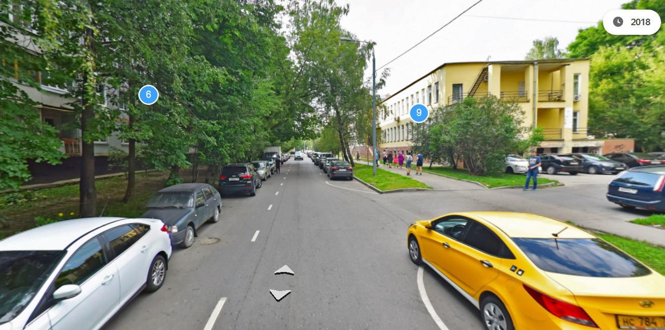 1968 на улице Марии Поливановой (сравнение с 2018 г.)