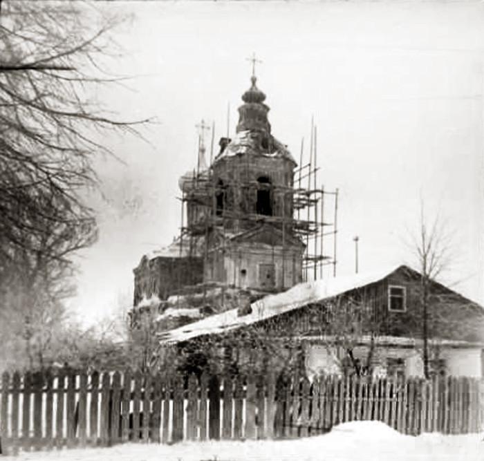1970е Храм Димитрия Ростовского в Очаково. Трубецкая Е.В.2