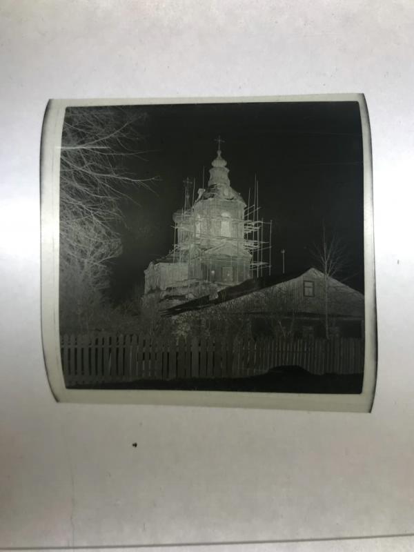 1970е Храм Димитрия Ростовского в Очаково. Трубецкая Е.В.