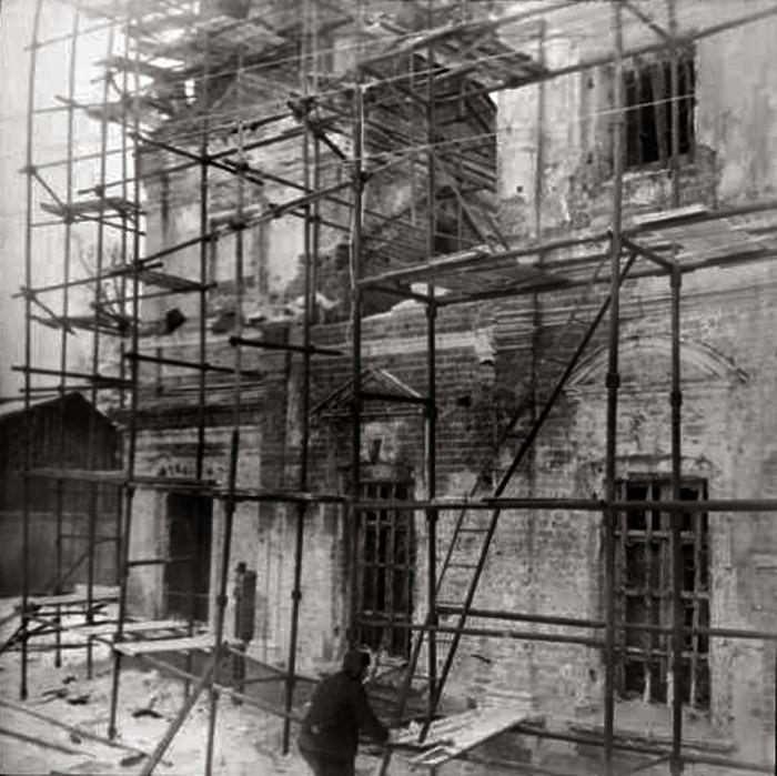 1970е Храм Димитрия Ростовского в селе Очаково, реставрация, Трубецкая Е.В.2