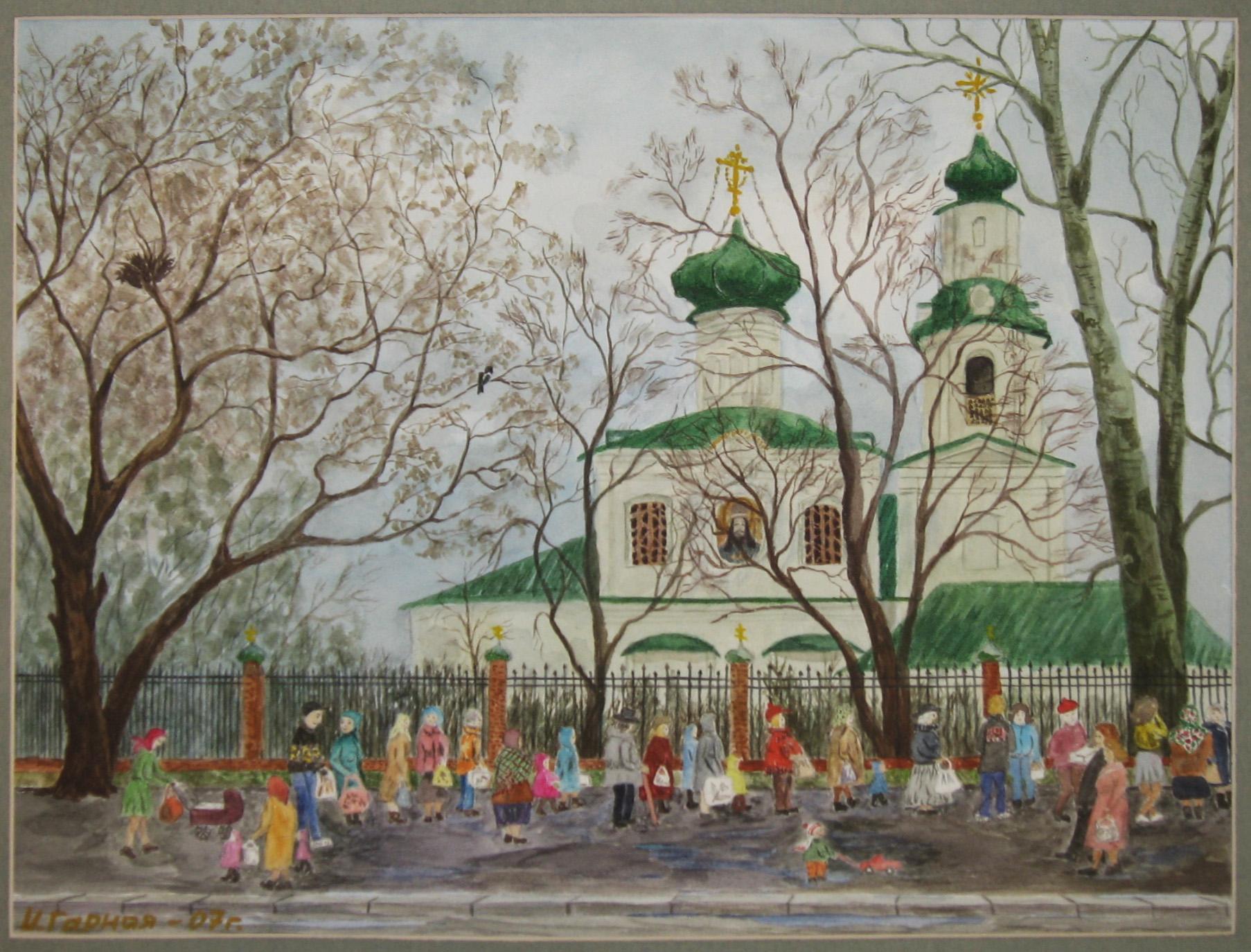 2007 Храм Димитрий митрополита Ростовского. И. Гарная