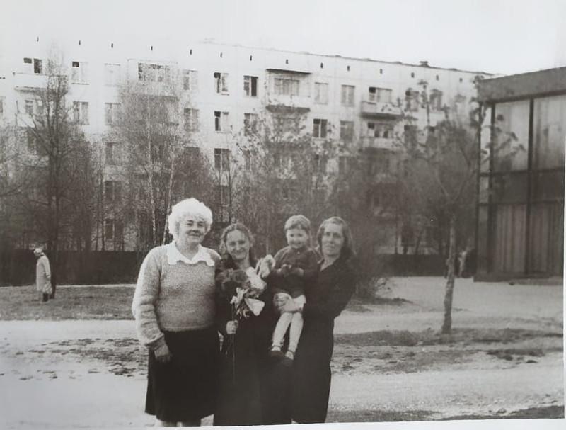 1982 Веерная д.20 Самая первая пятиэтажка, которую снесли на первой волне реновации. Прислала Екатерина