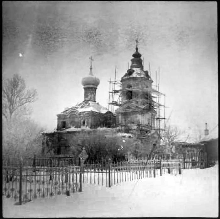 1970е Храм Димитрия Ростовского в селе Очаково, Трубецкая Е.В.